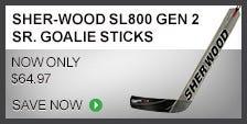 Sher-Wood SL800 Gen 2 Sr. Goalie Stick
