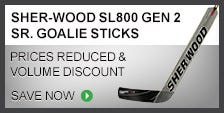 Sher-Wood SL800 Gen 2 Sr. Goalie Stick