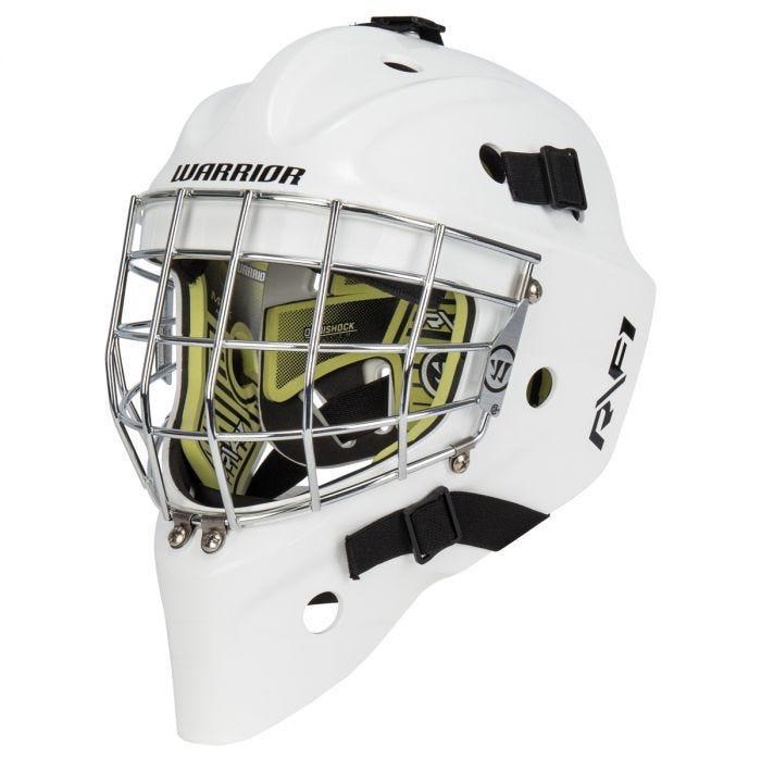 Warrior Ritual R/F1 Certified Straight Bar Goalie Mask
